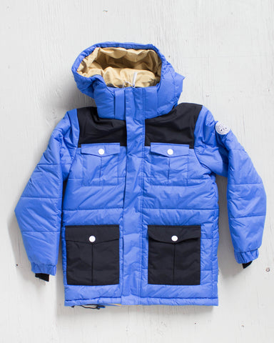 CLWR -TROPPER JACKET BLEU  - 1