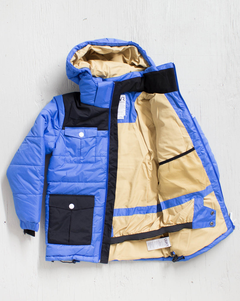 Snow coat CLWR TROPPER JACKET BLEU