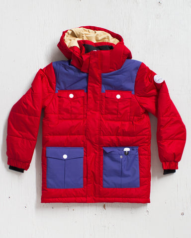 CLWR -TROPPER JACKET ROUGE  - 1
