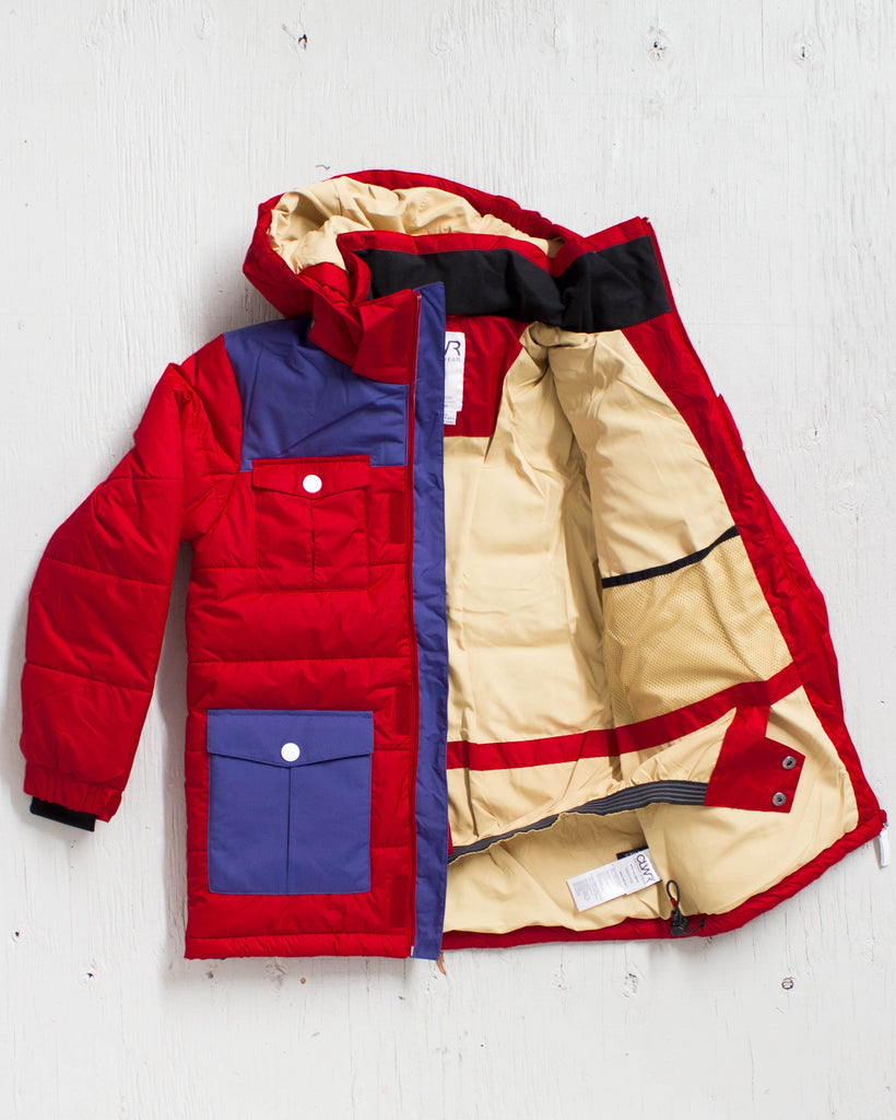 CLWR -TROPPER JACKET ROUGE  - 2