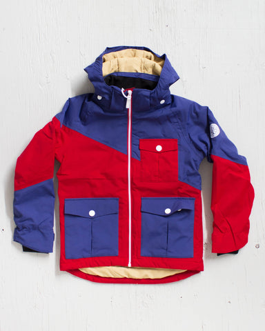 CLWR -DROP JACKET NAVY - 1