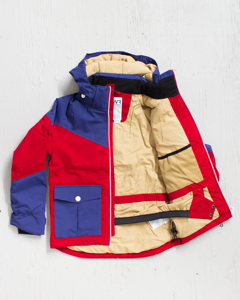 CLWR -DROP JACKET NAVY  - 2