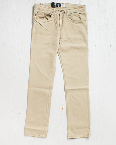FOURSTAR -COLLECTIVE DENIM KHAKI  - 1