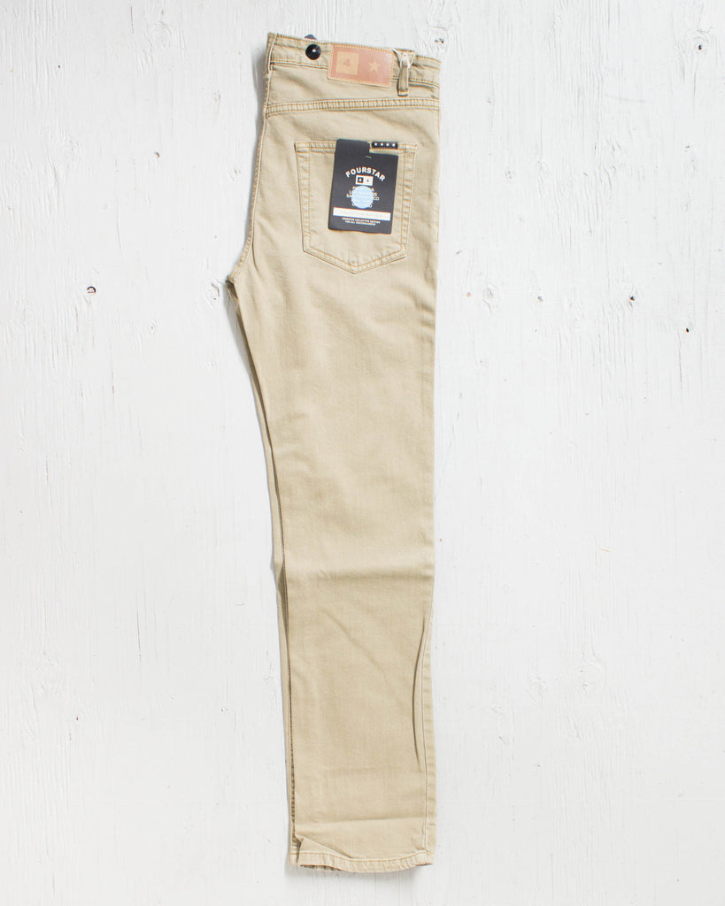 FOURSTAR -COLLECTIVE DENIM KHAKI  - 2