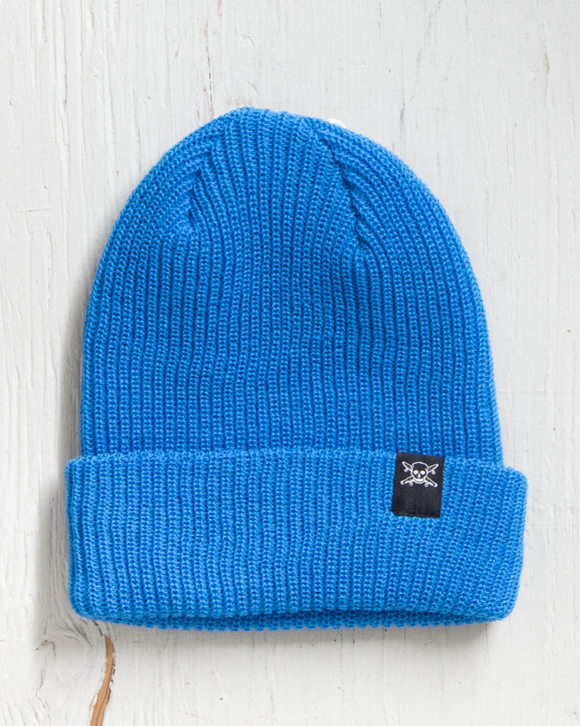 Tuque FOURSTAR PIRATE FOLD BEANIE LIGHT BLUE