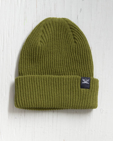 FOURSTAR -PIRATE FOLD BEANIE SYCAMORE