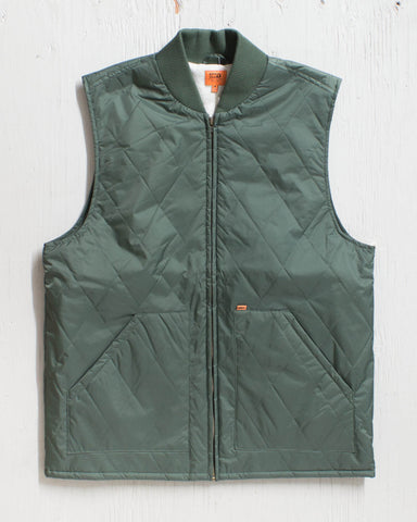 OBEY -RUSTIC VEST ARMY