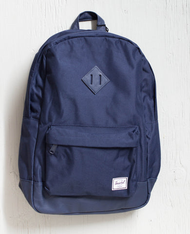 HERSCHEL -HERITAGE POLY NAVY/NATURAL