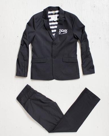 VOLCOM -DAPPER STONE SUIT BLACK  - 1