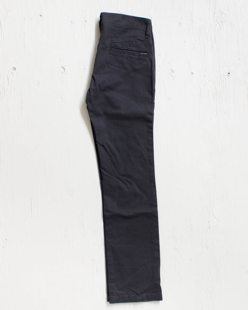 VOLCOM -FACETED PANT BLACK  - 2