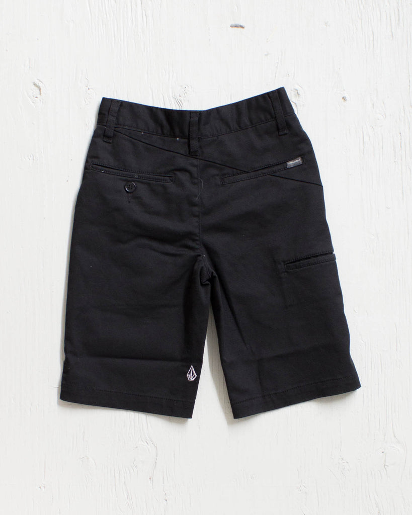 VOLCOM -FRICKIN MODERN STRETCH BLACK  - 2