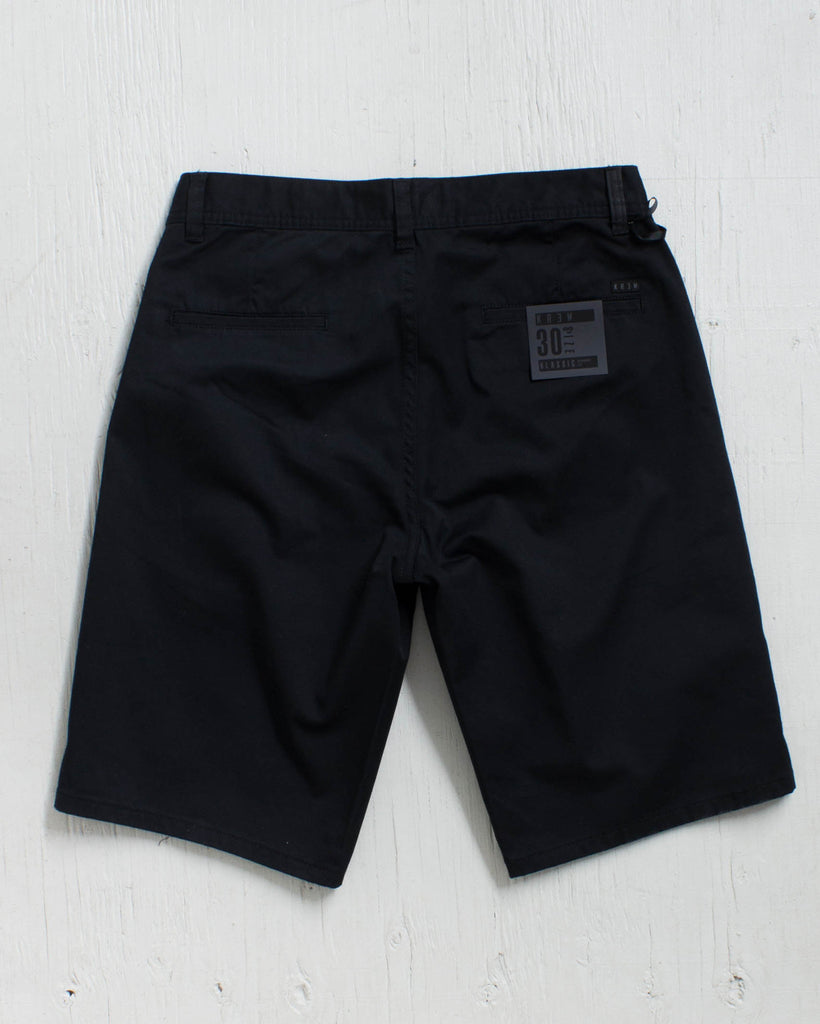 KREW -KLASSIC CHINO SHORT BLACK  - 2