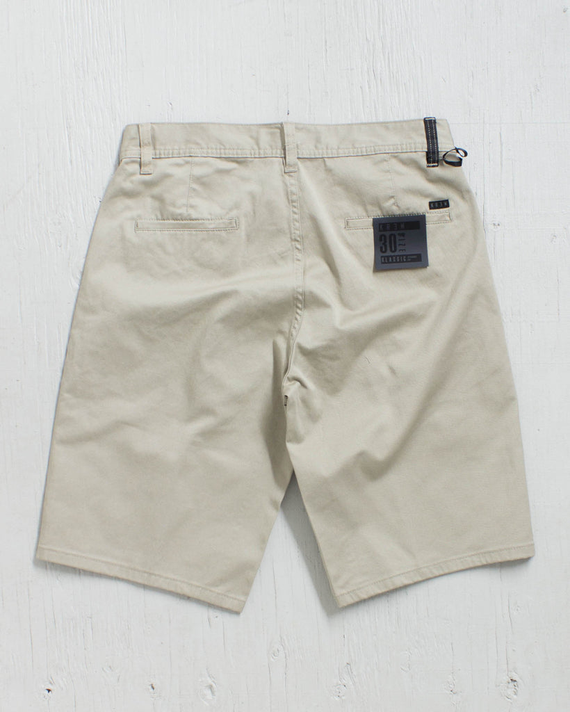 KREW -KLASSIC CHINO SHORT DARK KHAKI  - 2
