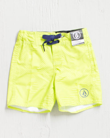 VOLCOM -38TH ST YOUTH LIME  - 1