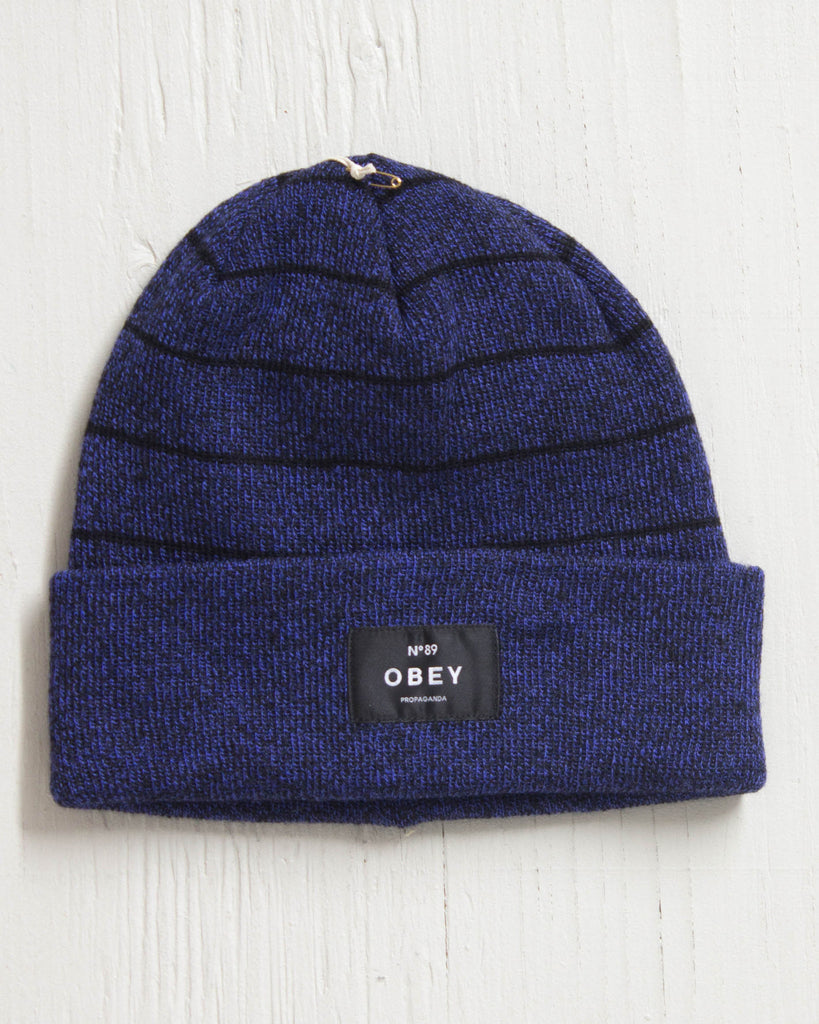 Tuque OBEY VERNON COBALT/BLACK