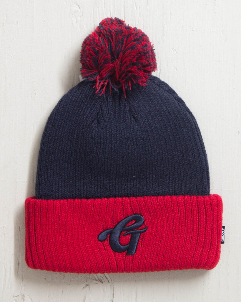Beanie GRIZZLY GRIZZLY HIGH GRADE RED