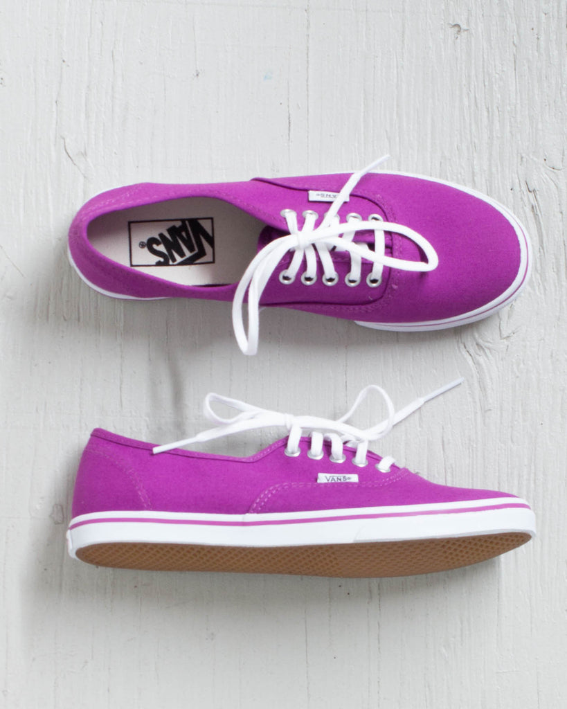 VANS -AUTHENTIC LO PRO DEEP ORCHID/TRU
