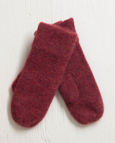 COAL -THE RUBY MITTEN RED