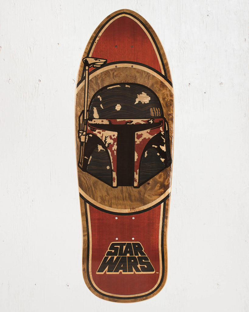 SANTA CRUZ -STAR WARS BOBA FETT INLAY  - 2