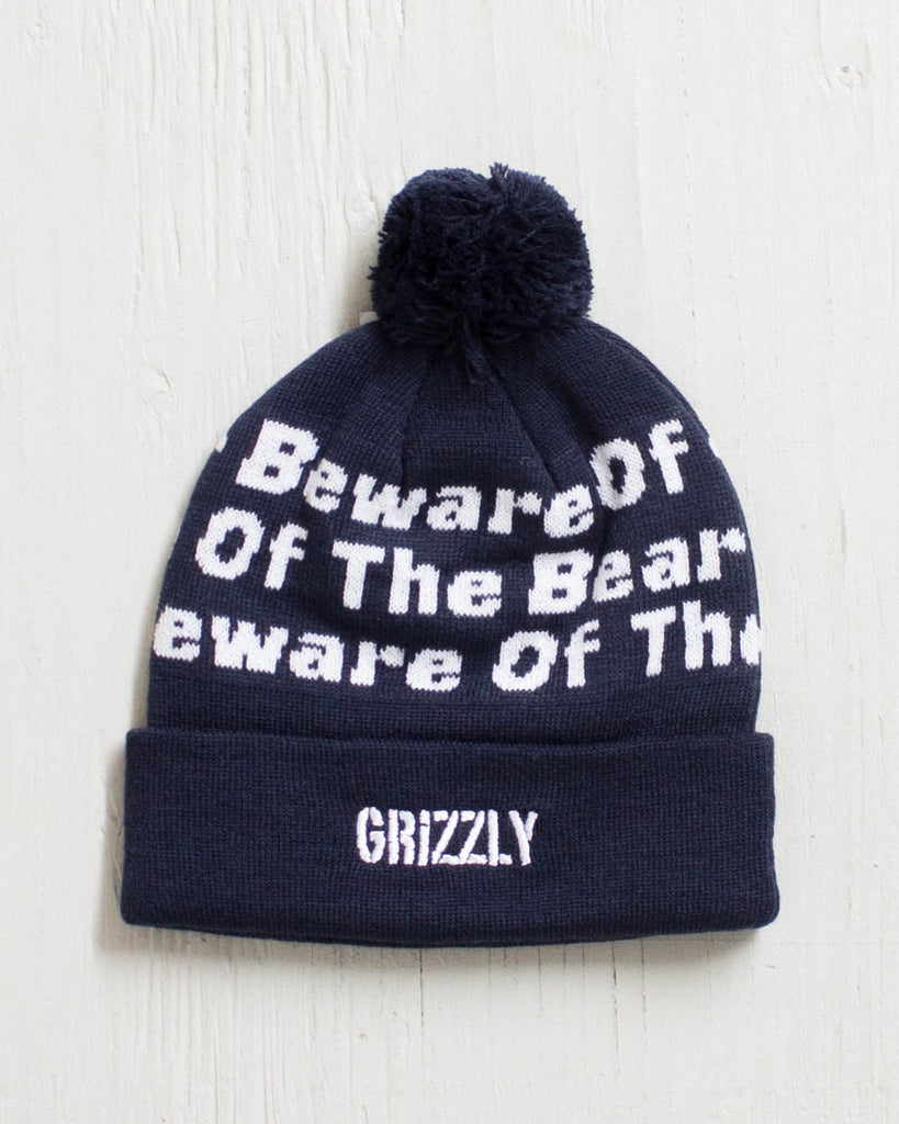 Tuque GRIZZLY BEANIE BOTB POM NAVY