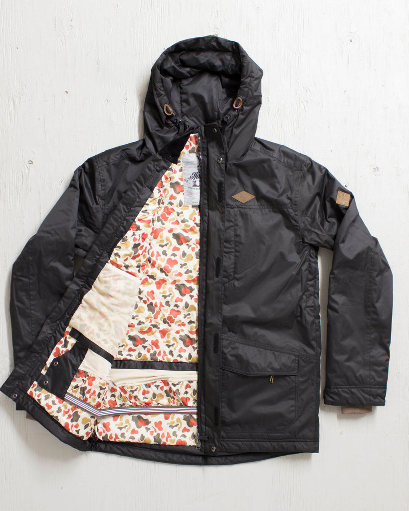 IFOUND -HEMLOCK JACKET JET BLACK  - 2