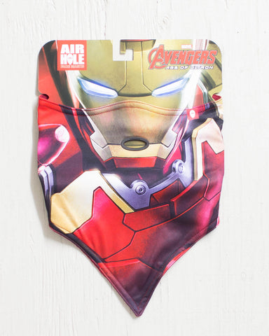 AIRHOLE -MARVEL S1  FACEMASK IRONMAN  - 1