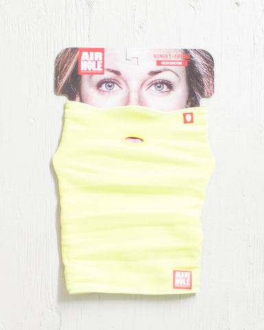 AIRHOLE -WOMENS AT1 POLAR AIRTUBE YELLOW