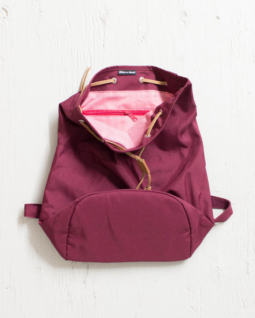 HERSCHEL -HANSON 300D POLY WINDSOR WINE  - 2