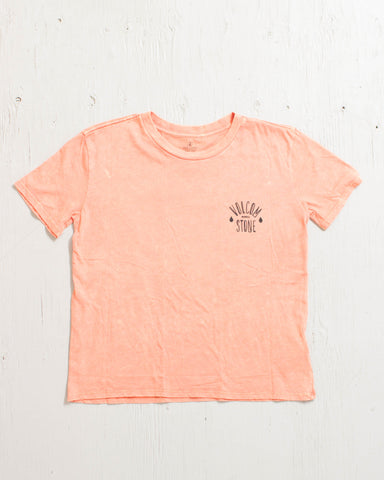 VOLCOM -NATIVE BASIC TEE FIRE RED  - 1