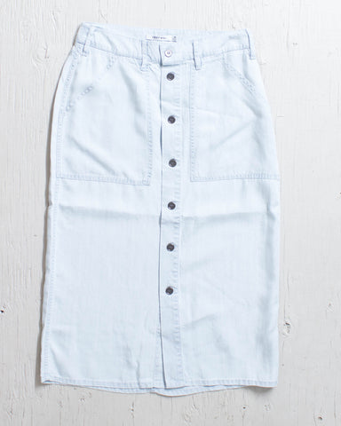 OBEY -ST.GILLES SKIRT CHAMBRAY  - 1