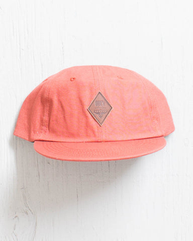ce9ff82a67e76 OBEY Casquette WILEY THROWBACK CORAL