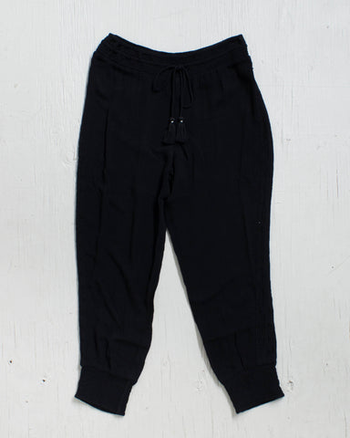 AMUSE -DEX PANT BLACK SANDS