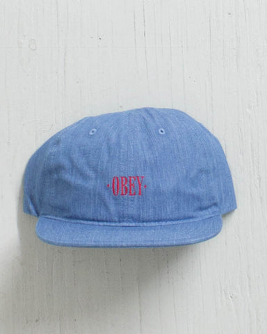 OBEY -ATLANTA HAT DENIM