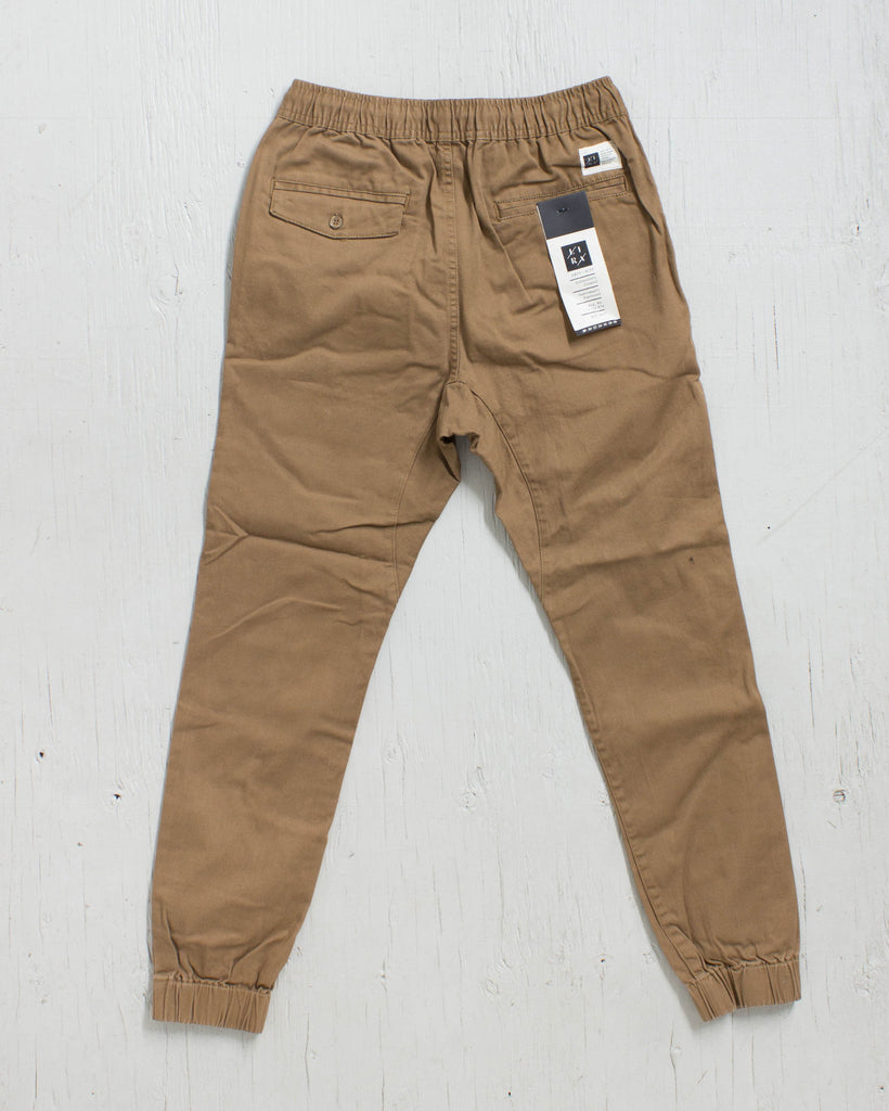 LIRA -WEEKEND JOGGER KHAKI  - 2