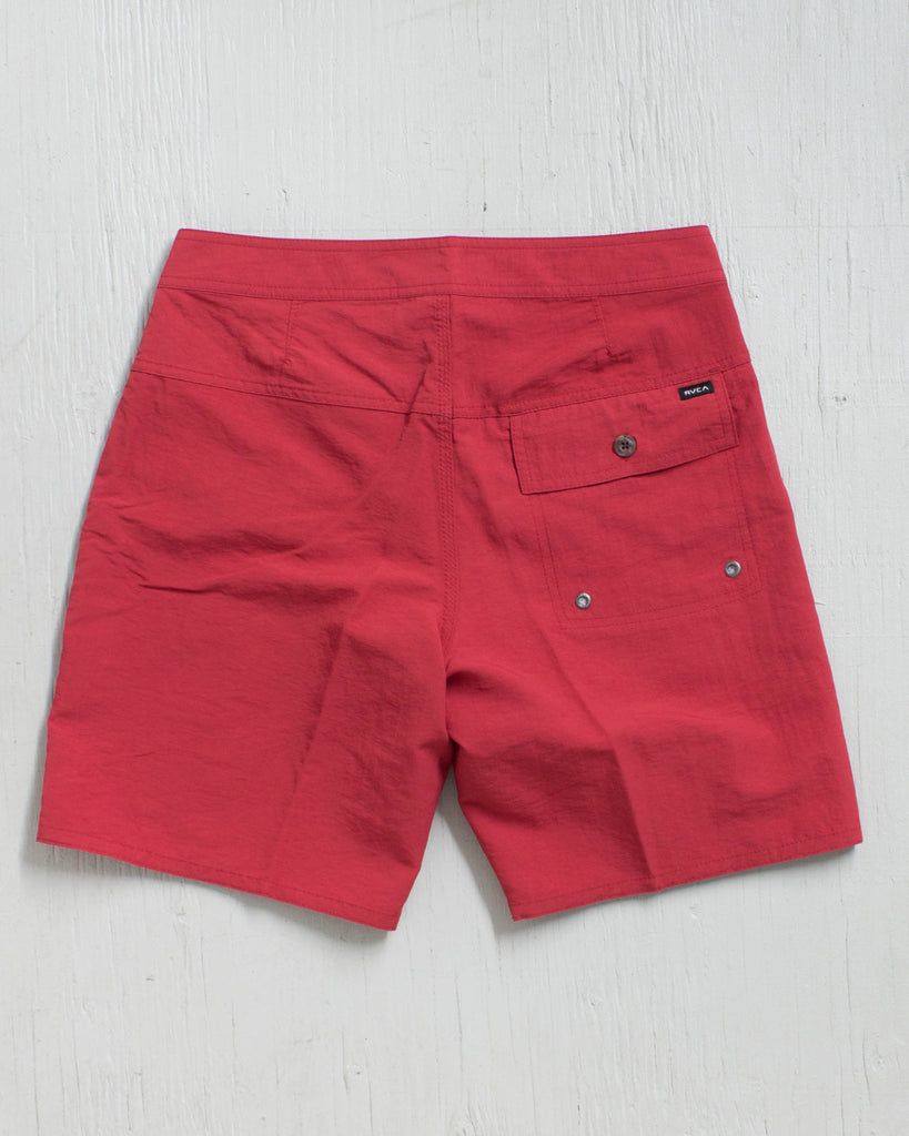 RVCA -RVCA NYLON TRUNK RED HOT  - 2