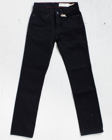 ELEMENT -DESOTO BOY BLACK RINSE DENIM - 1
