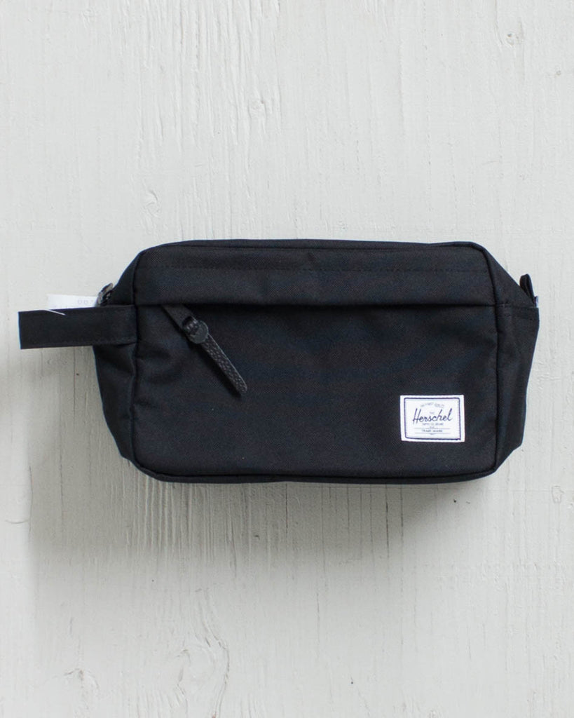 HERSCHEL -CHAPTER 600D POLY BLACK