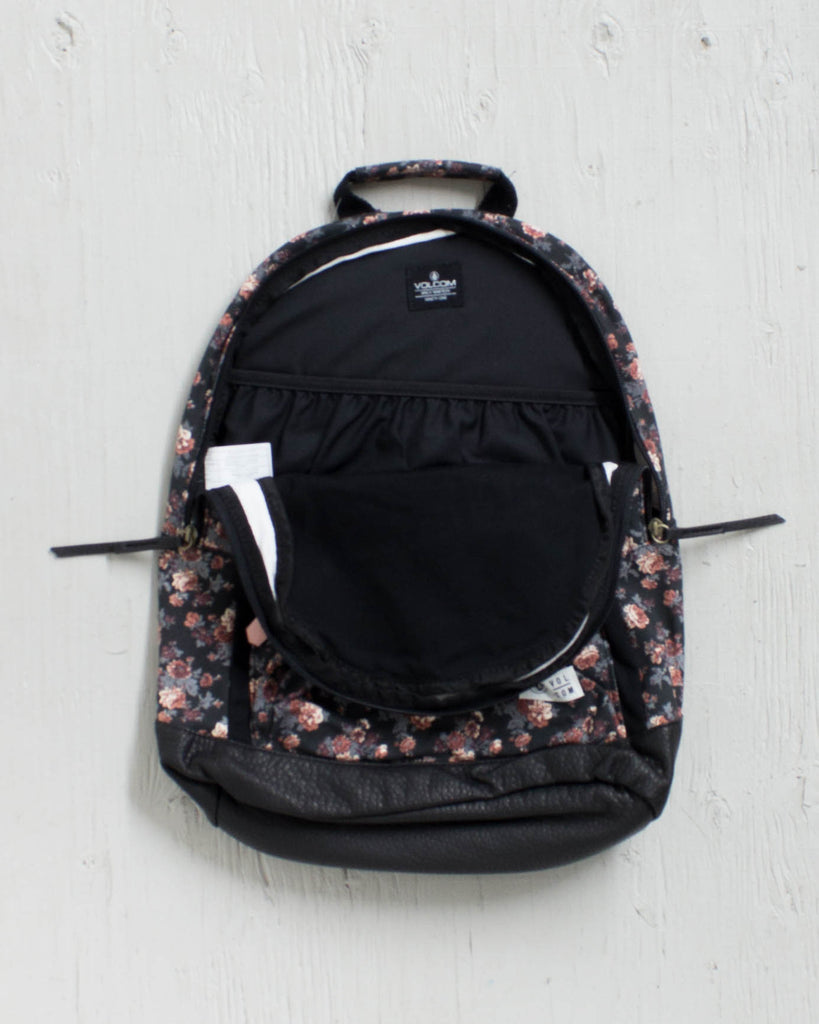 VOLCOM -SCHOOLYARRD CANVAS BLACK  - 2