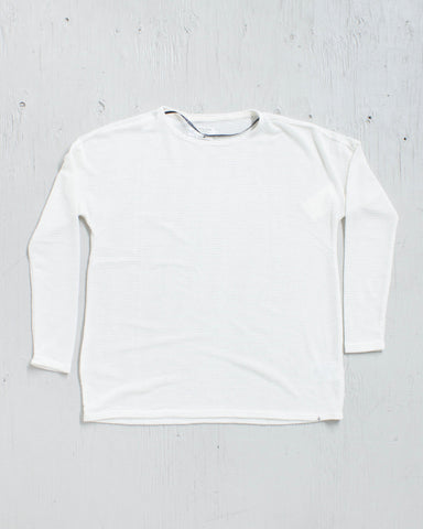 VOLCOM -LIVED IN GO CREW WHITE