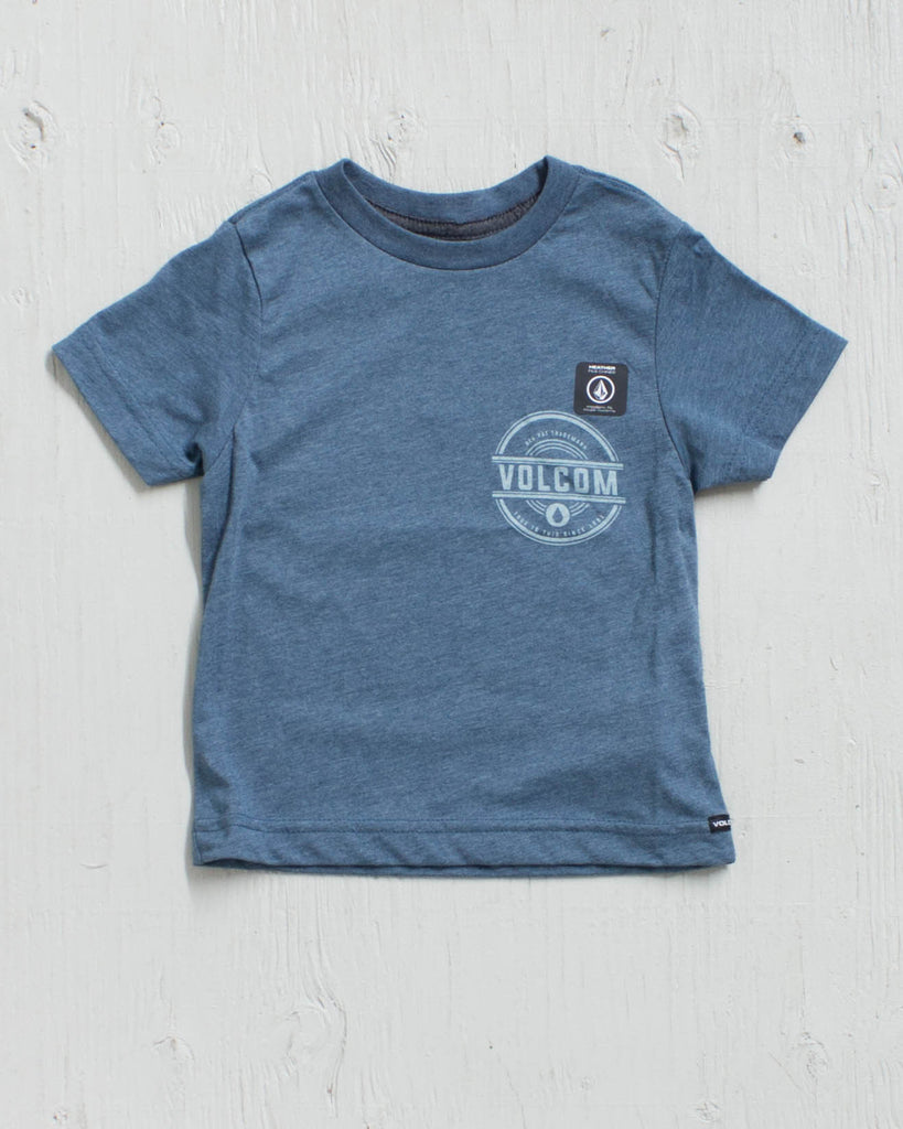 VOLCOM -JAMMER SS TEE AIRFORCE BLUE  - 2