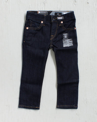 VOLCOM -2X4 LY DENIM RINSE JR  - 1