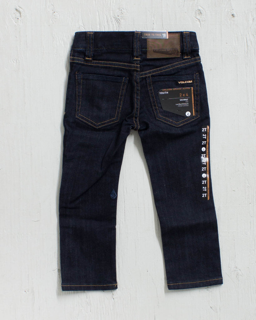 VOLCOM -2X4 LY DENIM RINSE JR  - 2