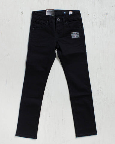 VOLCOM -2X4 BY DENIM NEW BLACK  - 1