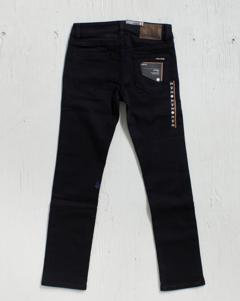 VOLCOM -2X4 BY DENIM NEW BLACK  - 2
