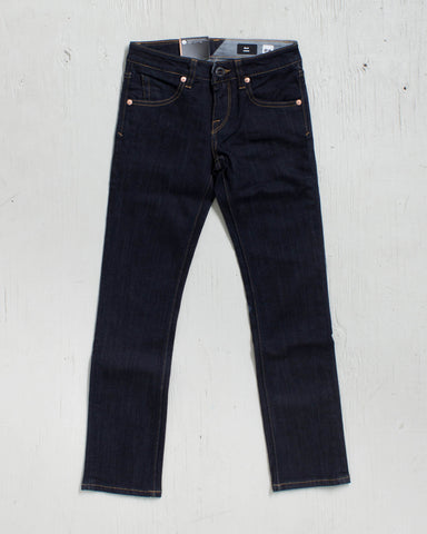 VOLCOM -2X4 BY DENIM RINSE  - 1