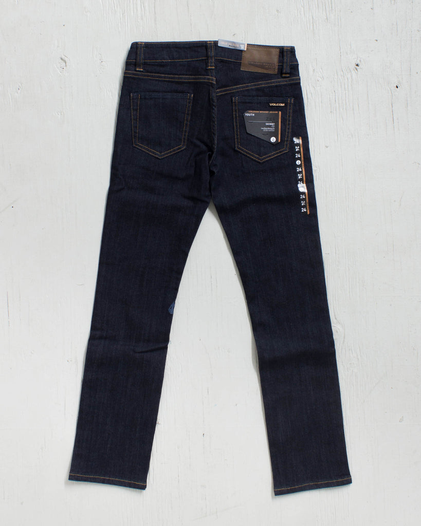 VOLCOM -2X4 BY DENIM RINSE  - 2