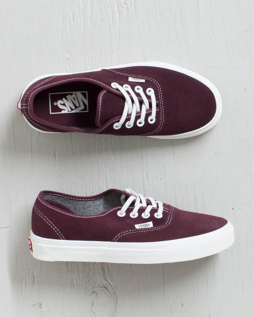 VANS -AUTHENTIC RED MAHOG