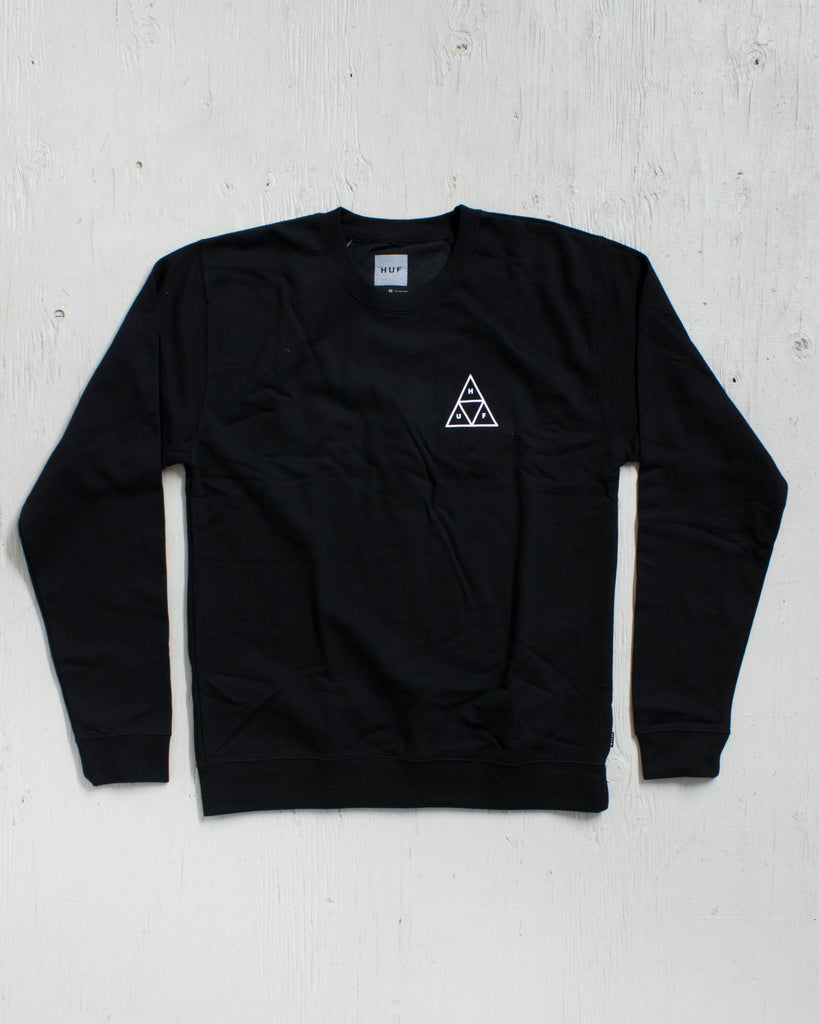 HUF -TRIPLE TRIANGLE BLACK  - 2