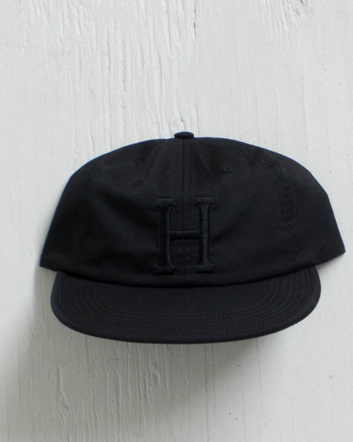 HUF -FORMLESS CLASSIC H BLACK  - 1