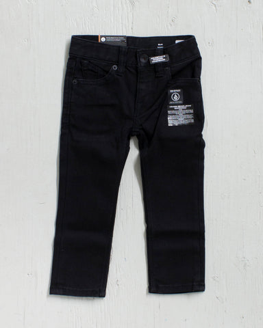 VOLCOM -2X4 LY DENIMM NEW BLACK  - 1